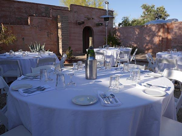 Fine Dining Catering Service at 29 Palms Inn
