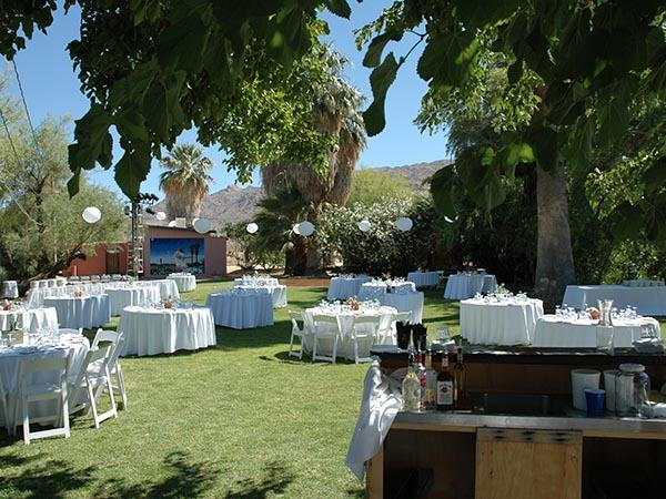 Large Party Wedding Catering 29 Palms Inn