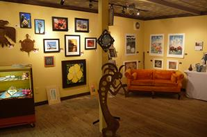 Buy local artwork at the Creative Center Gallery